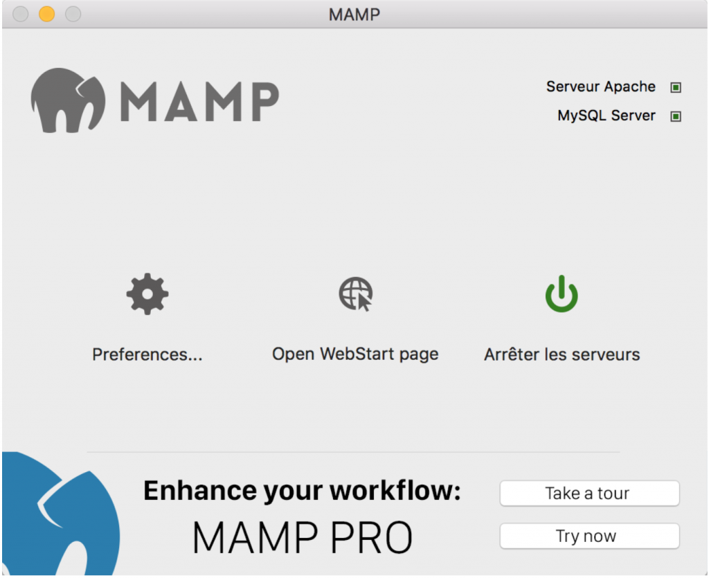 wamp application
